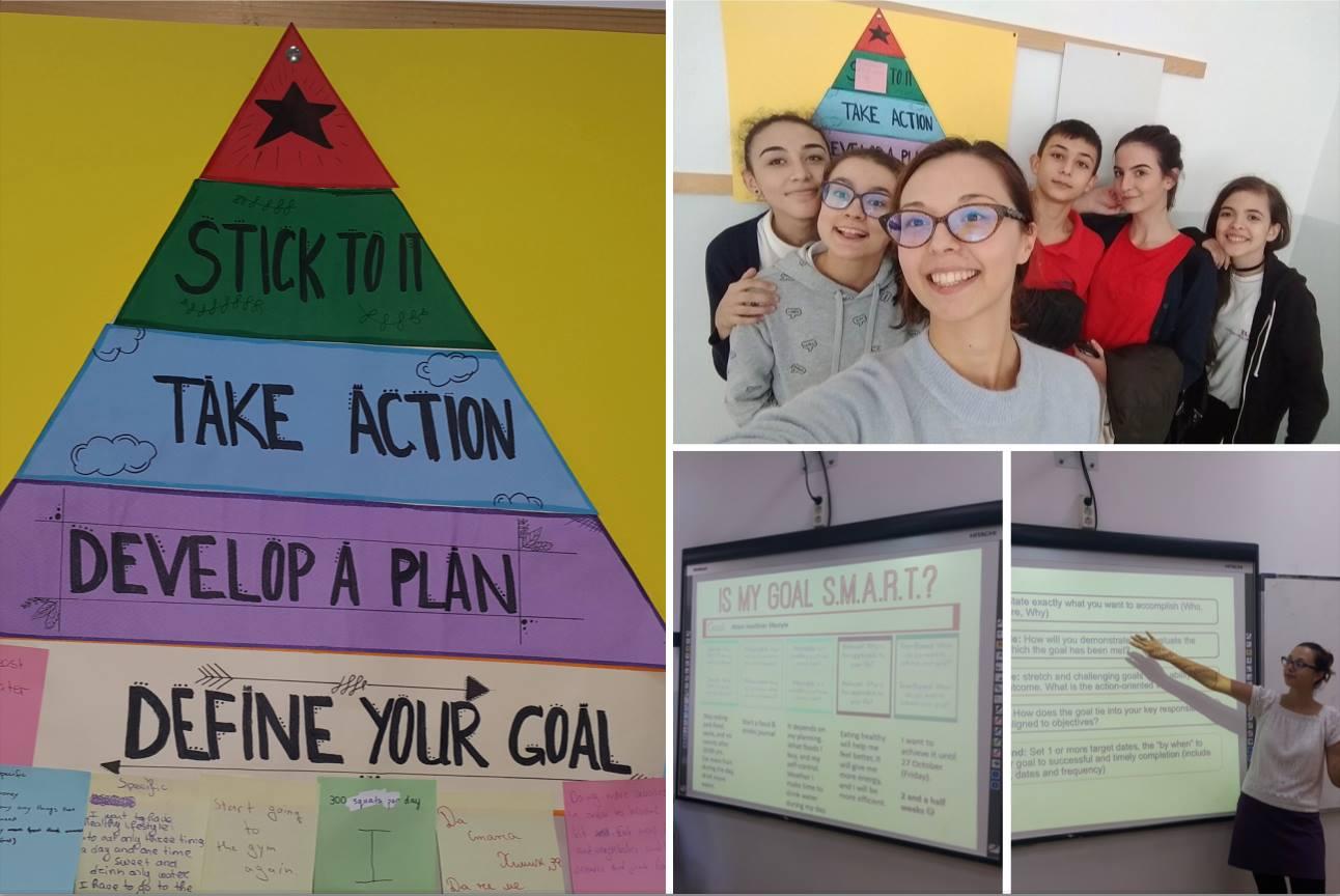 SMART цели за личностно развитие в 9 клас на Международно училище Златарски