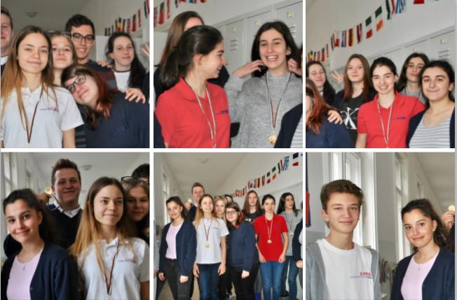 Ученици на Международно училище Златарски на турнир по дебати